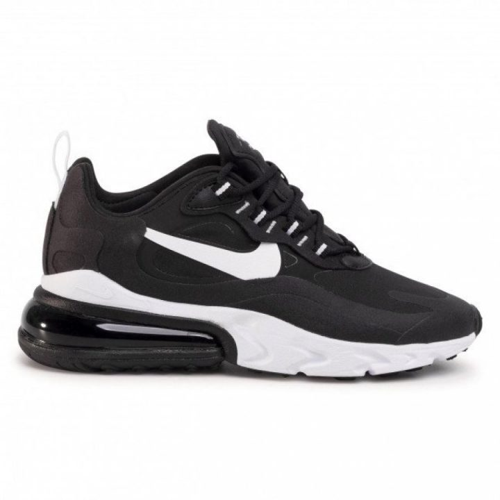 Nike Air Max 270 React fekete női utcai cipő