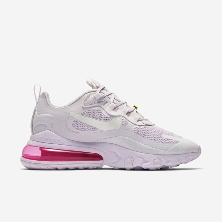 Nike Air Max 270 React rózsaszín utcai cipő