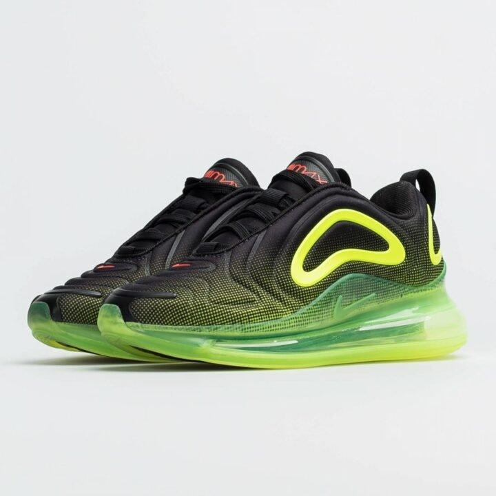 Nike Air Max 720 fekete női sportcipő
