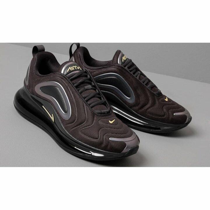 Nike Air Max 720 fekete női utcai cipő