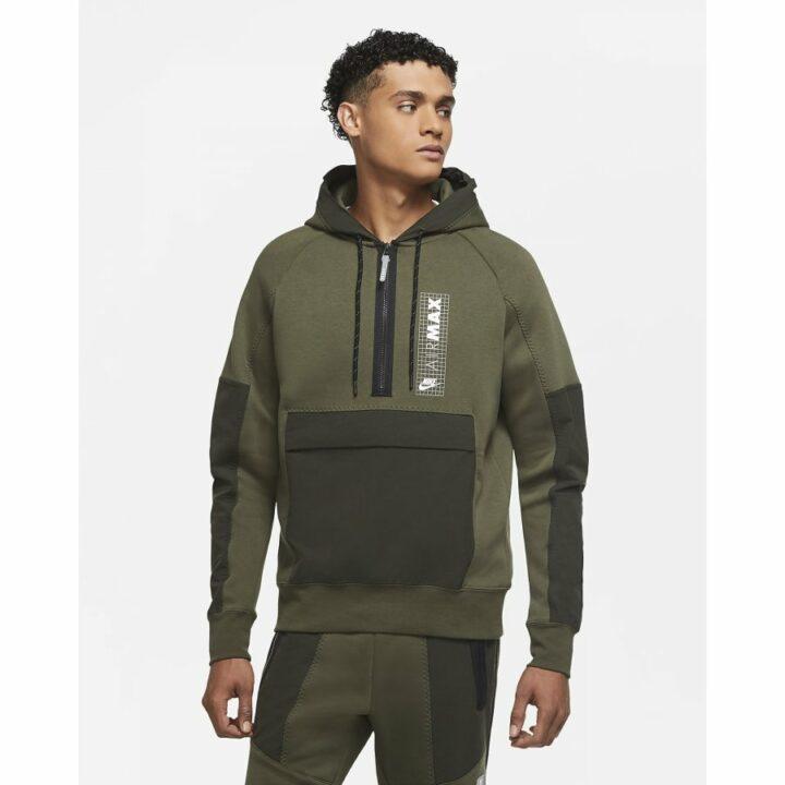 Nike Air Max zöld férfi pulóver