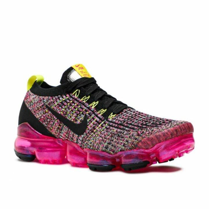 Nike Air Vapormax Flyknit 3 rózsaszín női utcai cipő