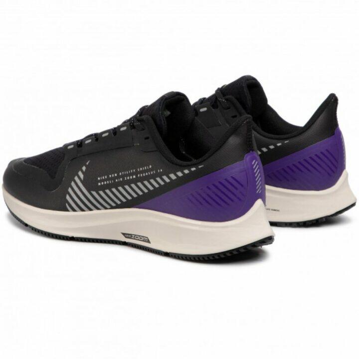 Nike Air Zoom Pegasus 36 Shield fekete férfi futócipő