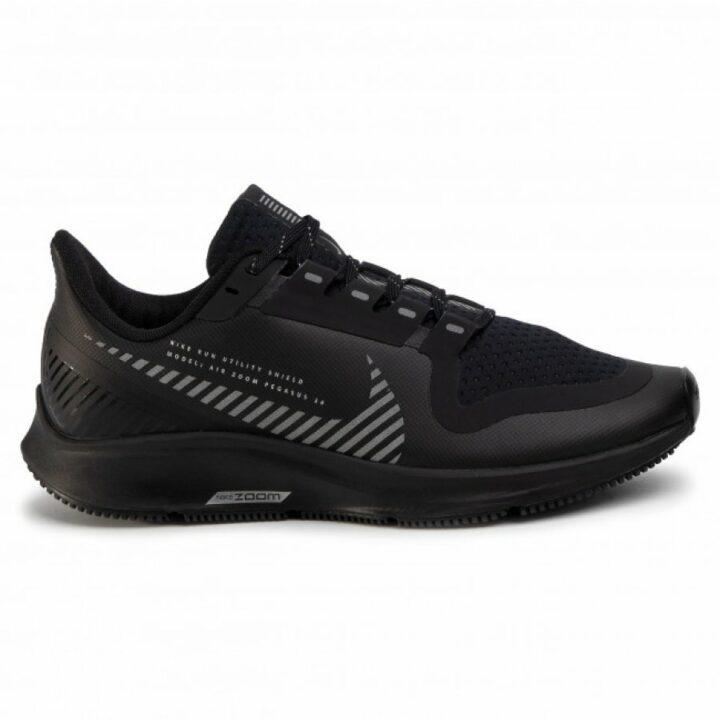 Nike Air Zoom Pegasus 36 Shield fekete futócipő