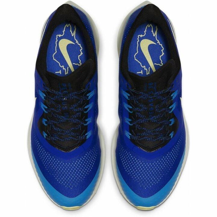 Nike Air Zoom Pegasus 36 Trail kék férfi túracipő