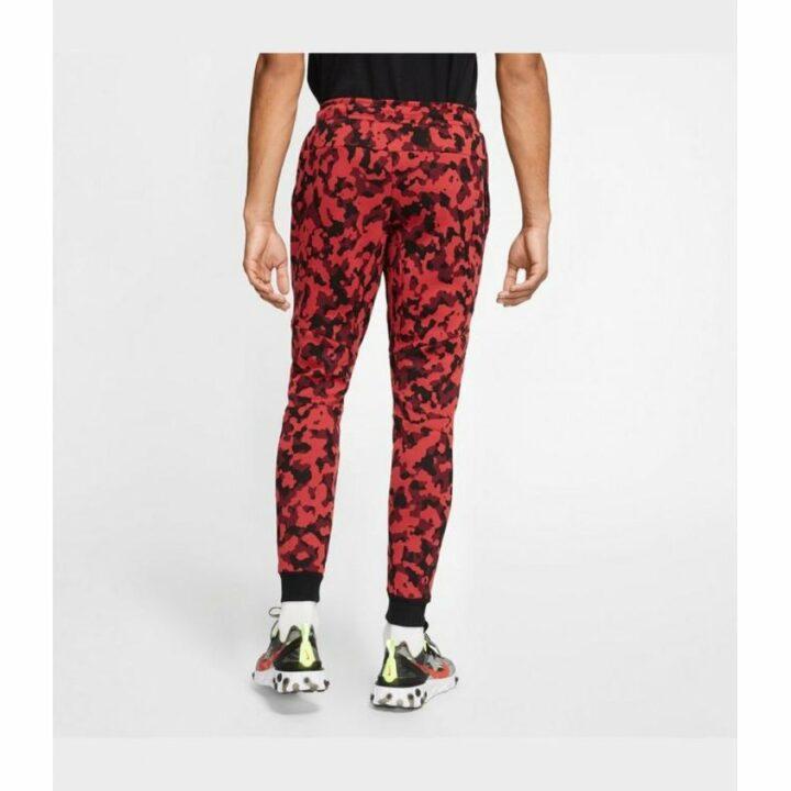Nike camouflage piros férfi melegítőnadrág