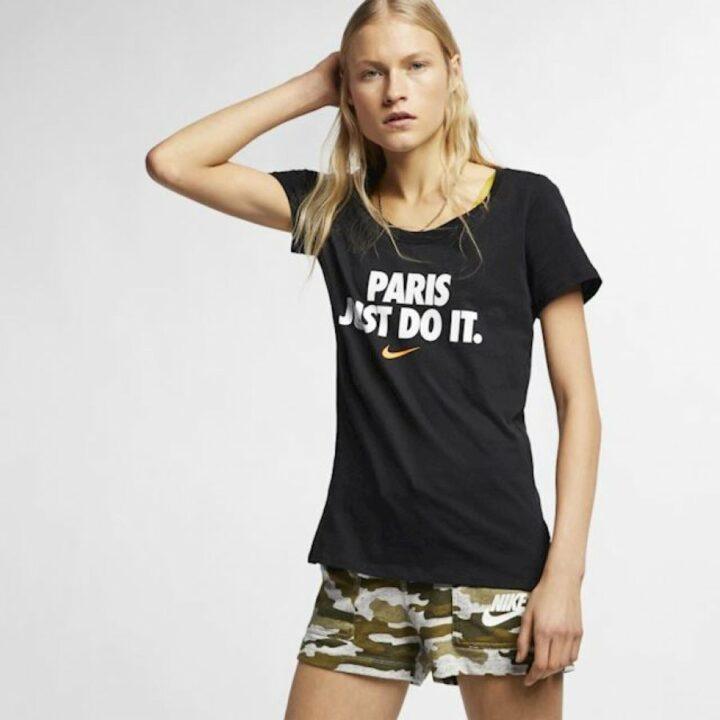 Nike City JDI fekete női póló
