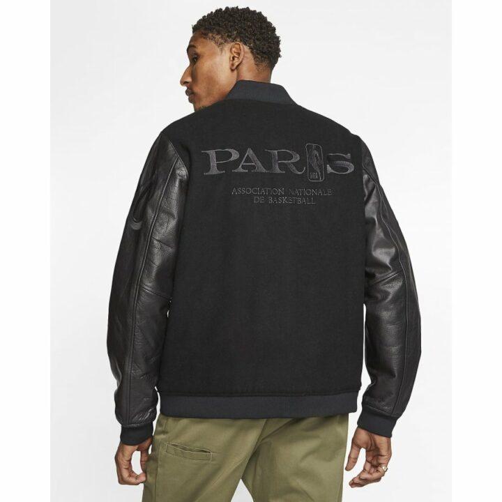 Nike Courtside NBA Paris fekete férfi kabát