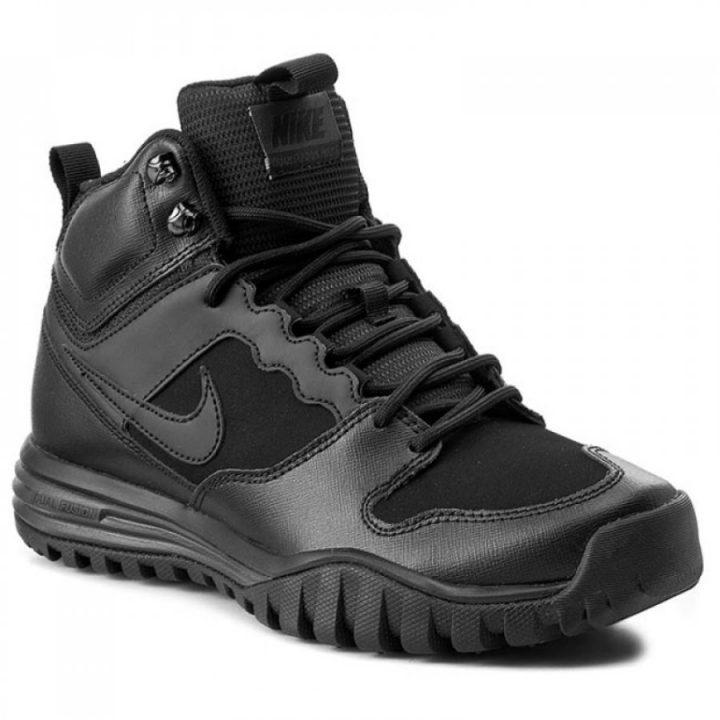 Nike Dual Fusion Hills Mid Leather fekete férfi bakancs