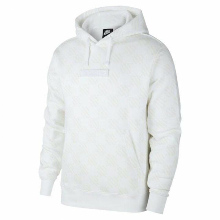 Nike fehér férfi pulóver