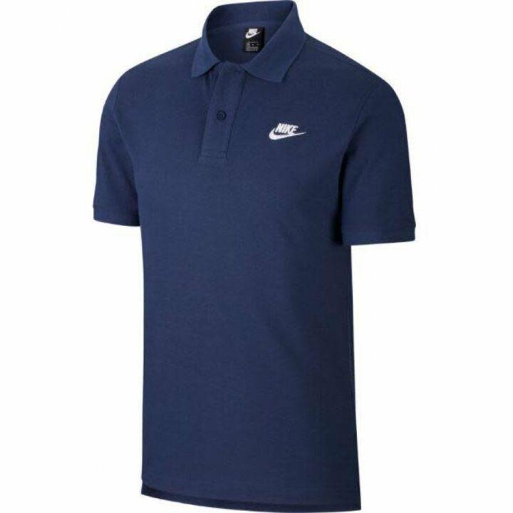 Nike kék férfi póló