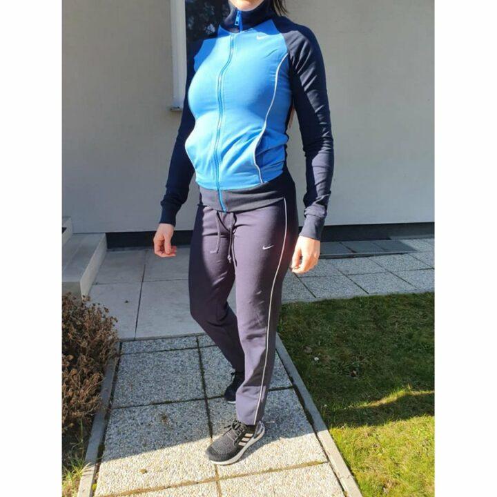 Nike kék női melegítő együttes