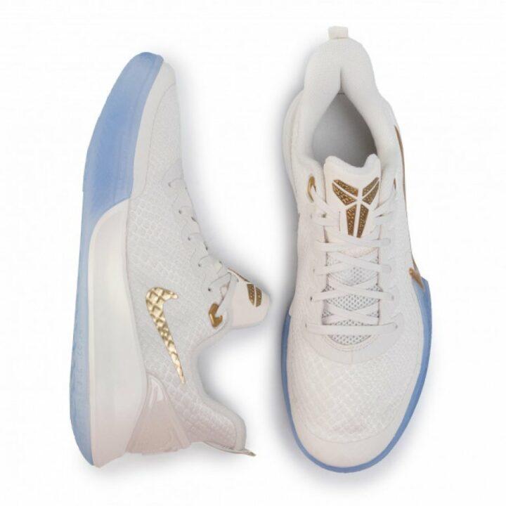 Nike Mamba Focus fehér férfi kosárlabdacipő