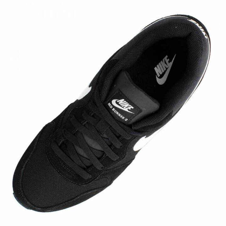 Nike MD Runner fekete férfi utcai cipő