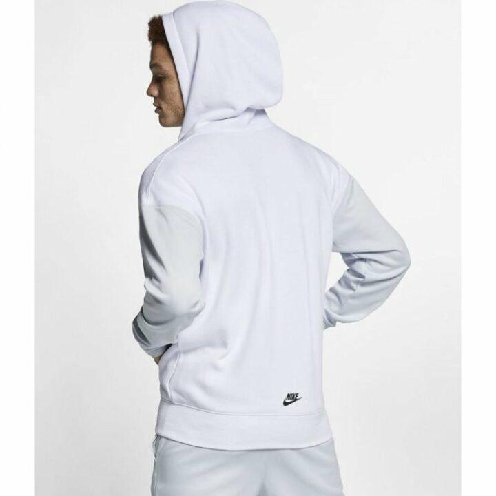 Nike NSW fehér férfi pulóver