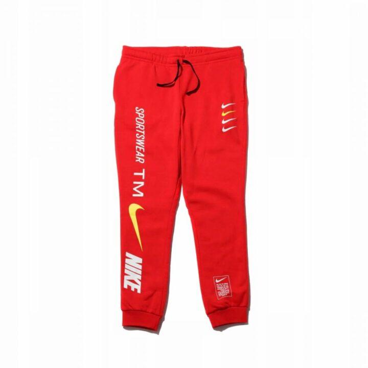 Nike NSW TM piros férfi melegítőnadrág