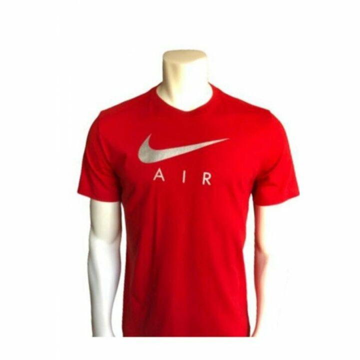 Nike piros férfi póló