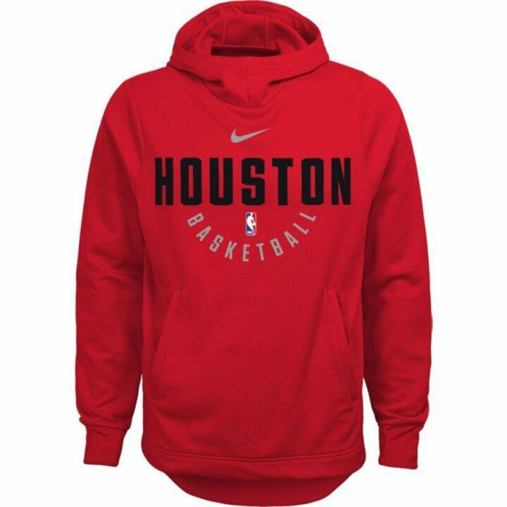 Nike piros fiú pulóver