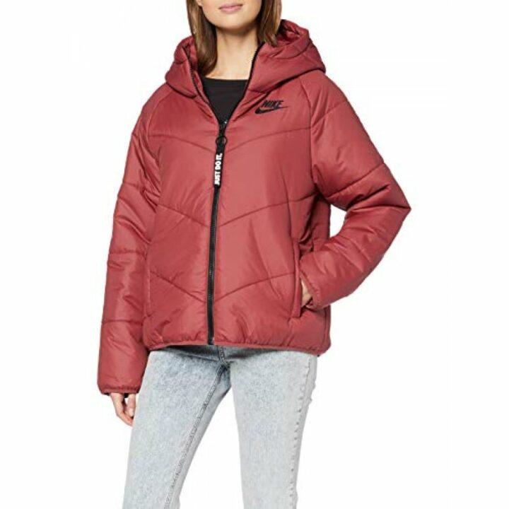 Nike piros női kabát