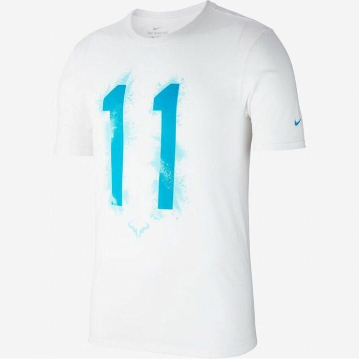 Nike RAFA NADAL 11 CHAMPION fehér férfi póló