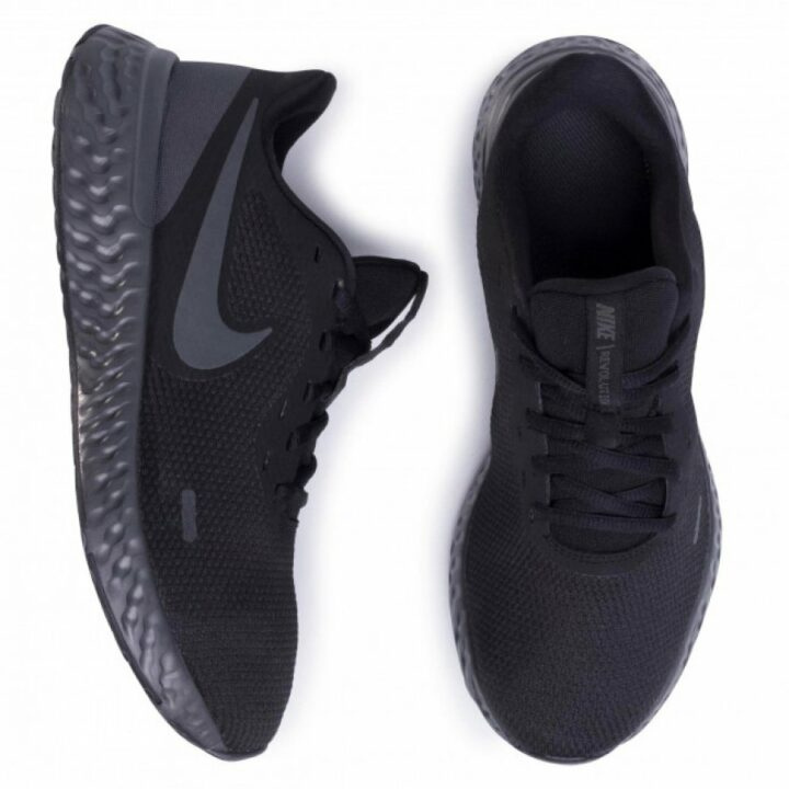 Nike Revolution 5 fekete férfi sportcipő