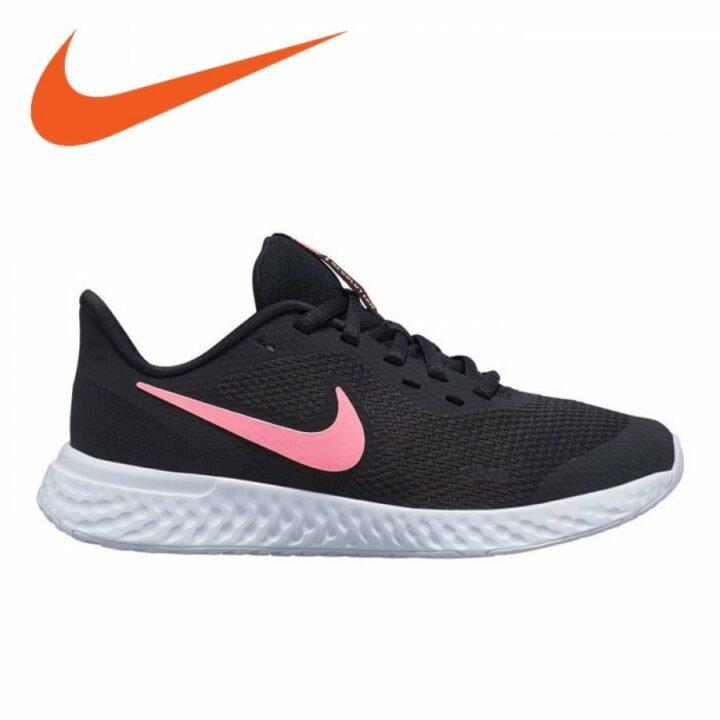 Nike REVOLUTION 5 GS fekete női sportcipő