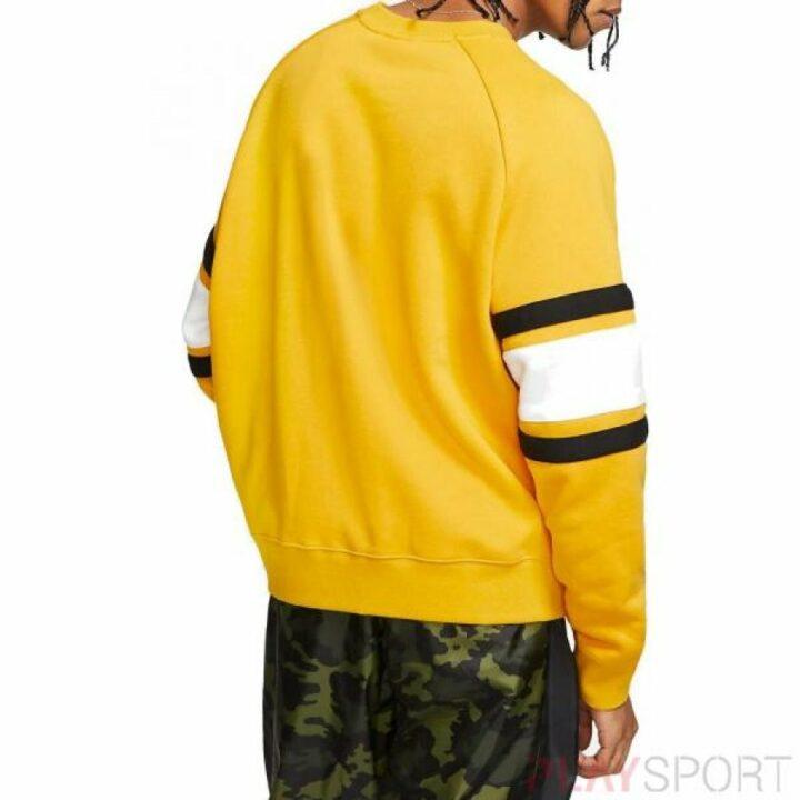 Nike sárga férfi pulóver