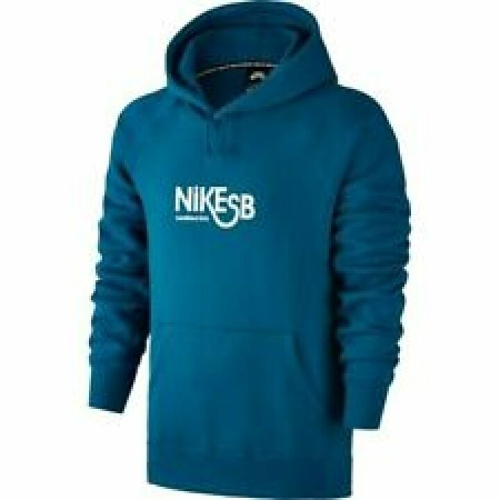 Nike SB kék férfi pulóver