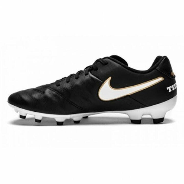 Nike Tiempo Genio II Leather FG fekete férfi focicipő