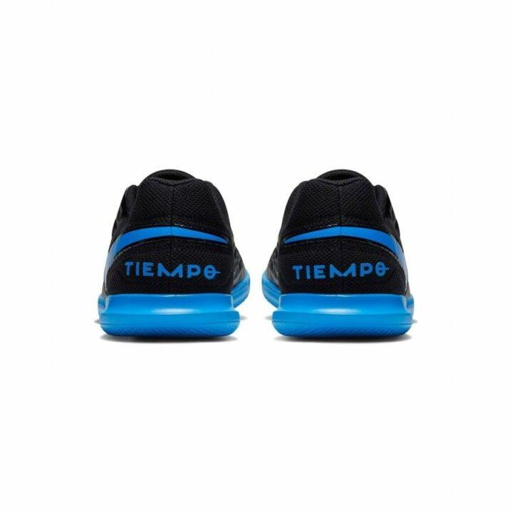 Nike Tiempo Legend Club IC Junior fekete teremcipő