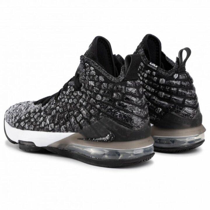 Nike XVII fekete kosárlabdacipő