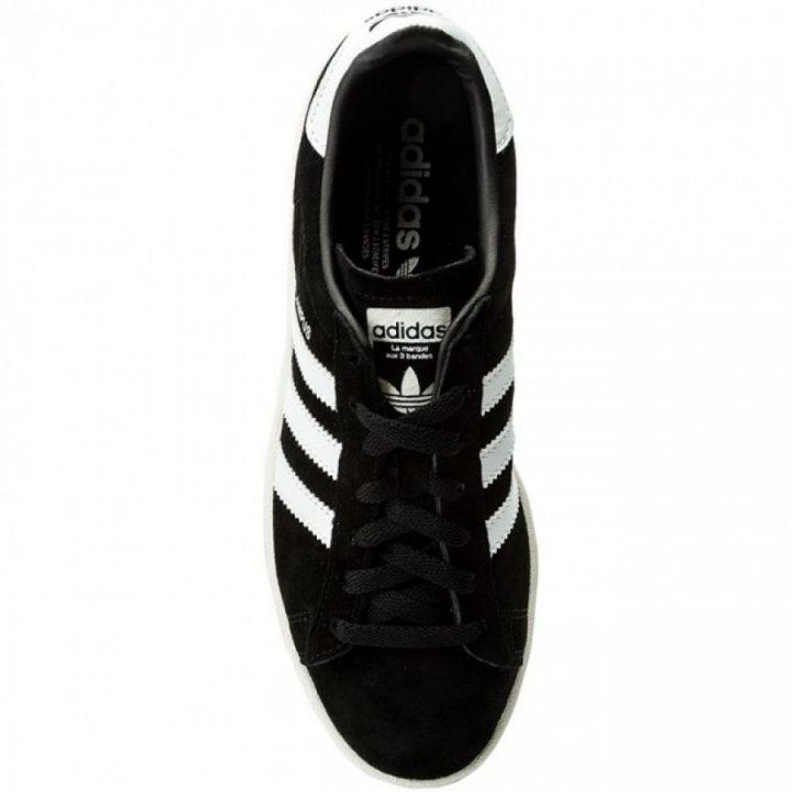 Adidas Campus fekete utcai cipő