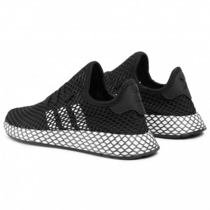 Adidas Deerupt Runner J fekete utcai cipő