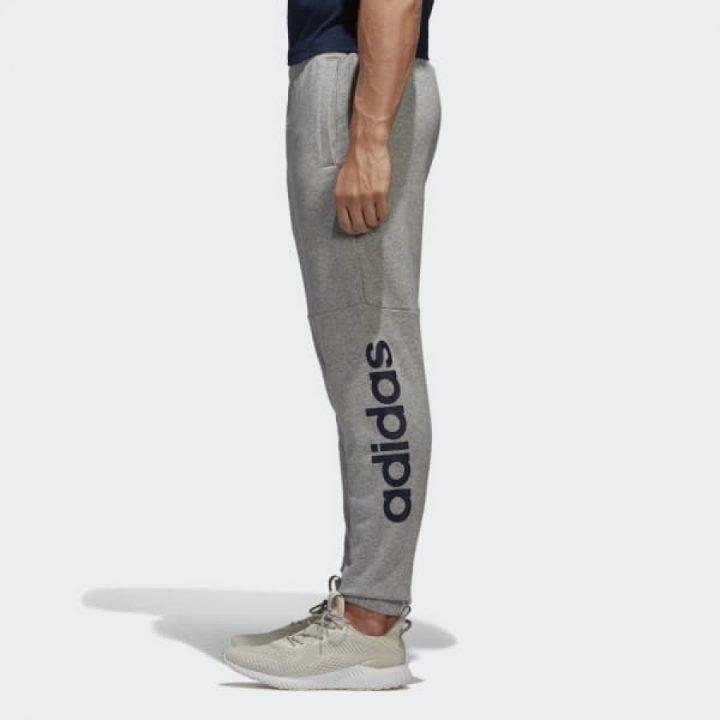 Adidas ESS Linear szürke férfi melegítőnadrág