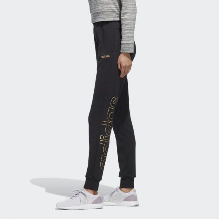 Adidas Essentials fekete női melegítőnadrág