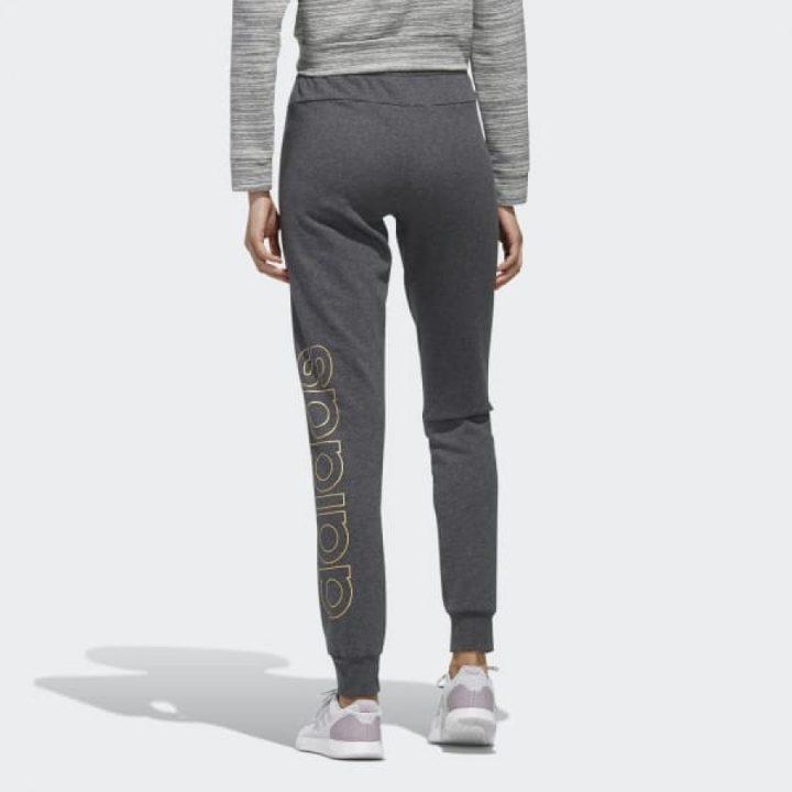 Adidas Essentials szürke női melegítőnadrág