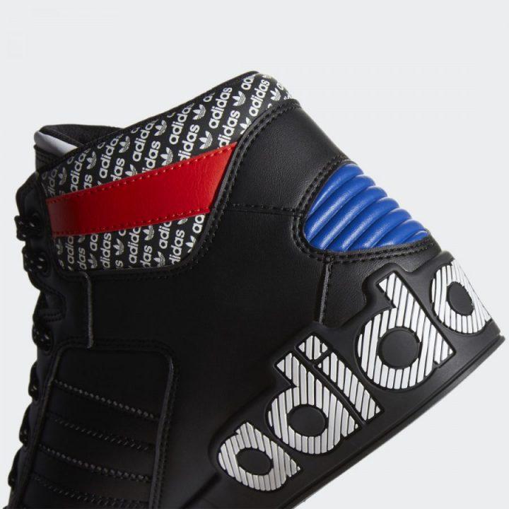 Adidas HARD COURT HI fekete férfi utcai cipő