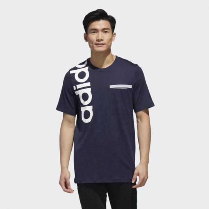 Adidas NEW AUTHENTIC kék férfi póló