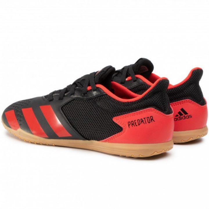Adidas Predator 20.4 In Sa fekete férfi focicipő