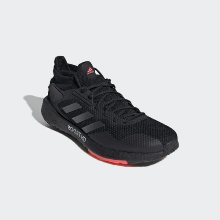Adidas Pulseboost HD fekete férfi sportcipő