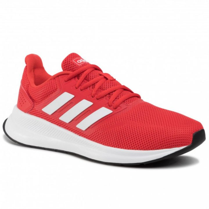 Adidas Runfalcon piros férfi futócipő