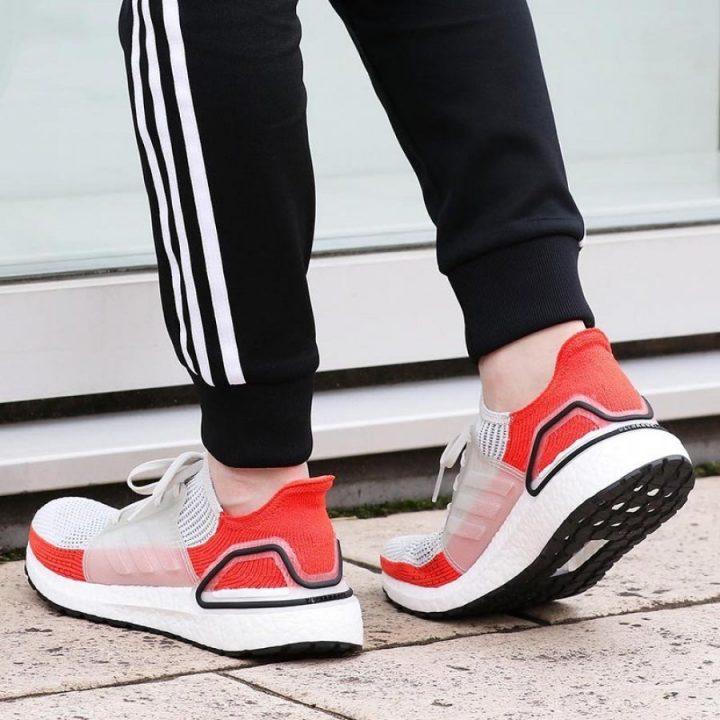 Adidas Ultraboost 19 fehér férfi futócipő