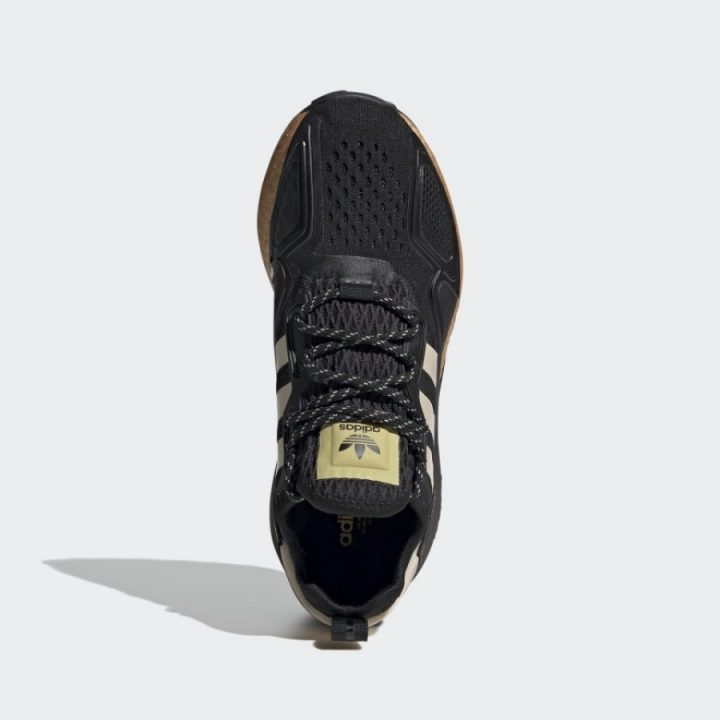 Adidas ZX 2K BOOST fekete futócipő