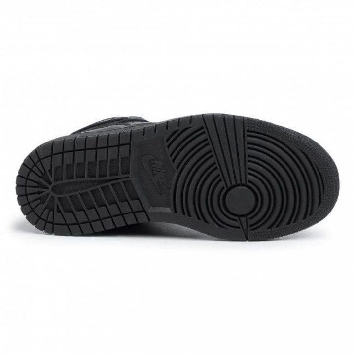Jordan Access GS fekete utcai cipő