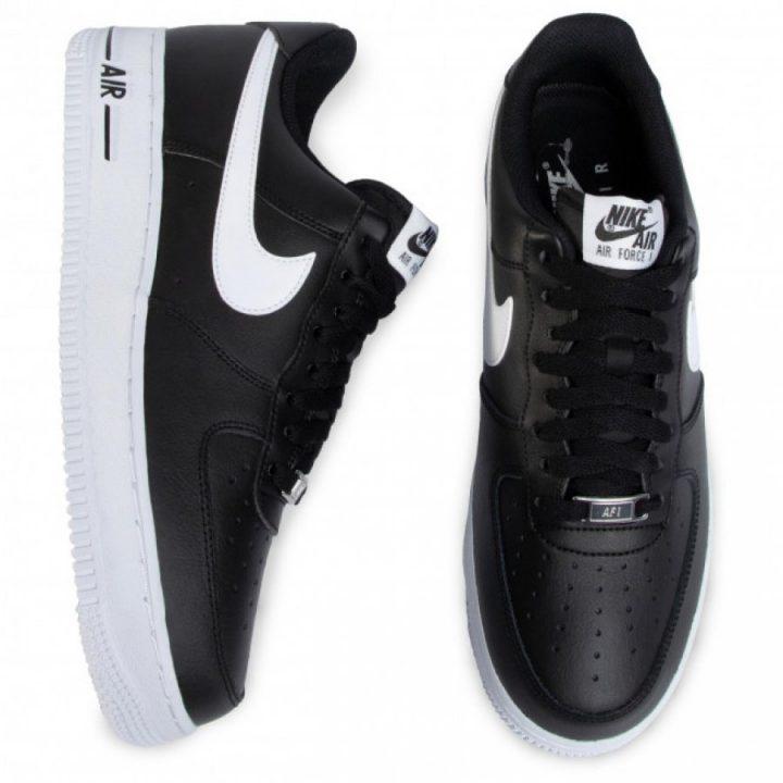 Nike Air Force 1'07 An20 fekete férfi utcai cipő