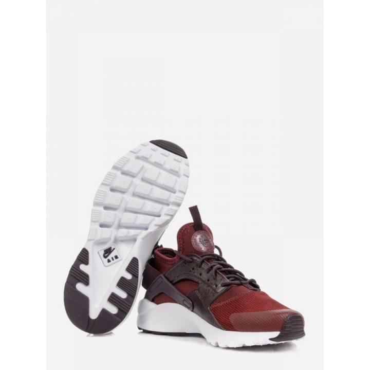 Nike Air Huarache Run Ultra bordó utcai cipő