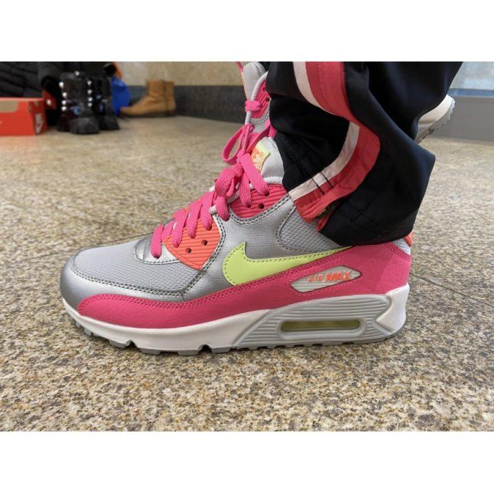 Nike Air Max 90 ezüst utcai cipő