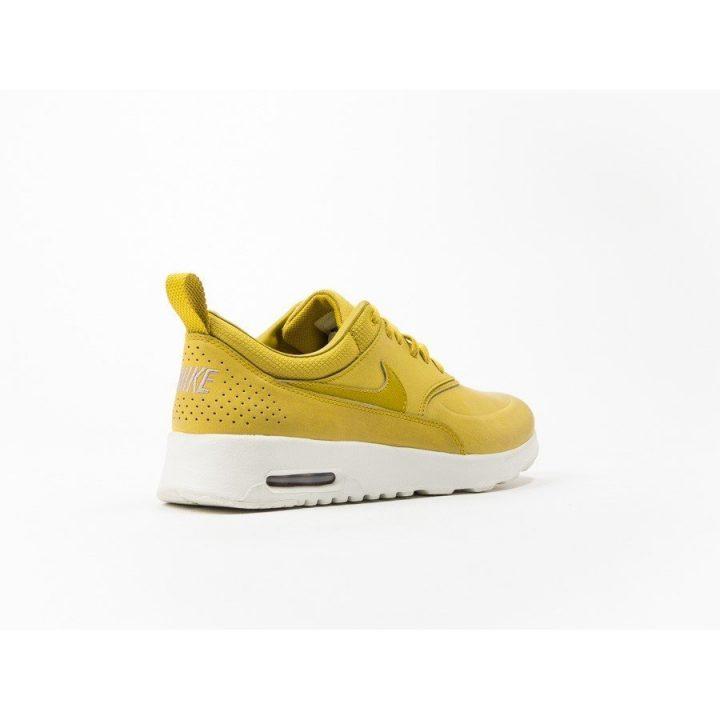 Nike Air Max Thea Premium sárga női utcai cipő