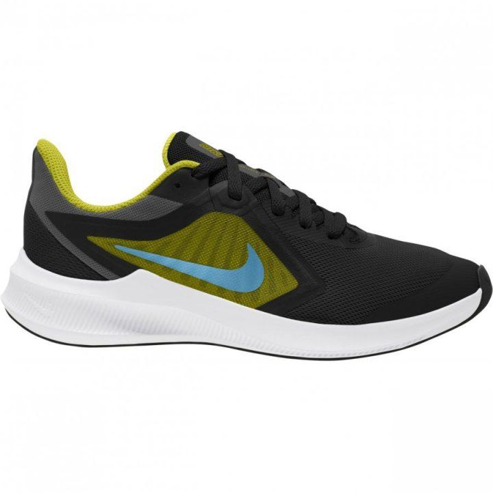 Nike Downshifter 10 fekete sportcipő