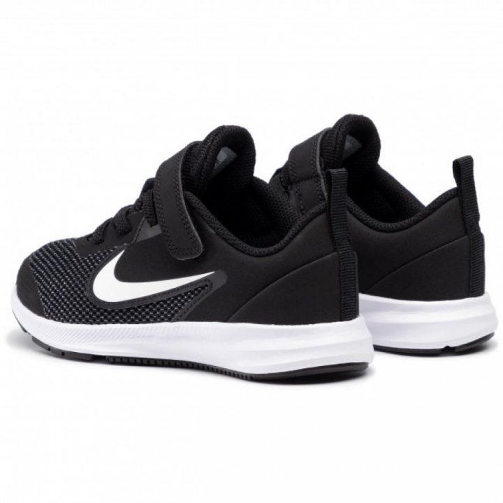 Nike Downshifter 9 fekete utcai cipő